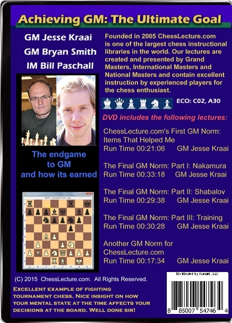 Achieving GM - The Ultimate Goal V1 Back