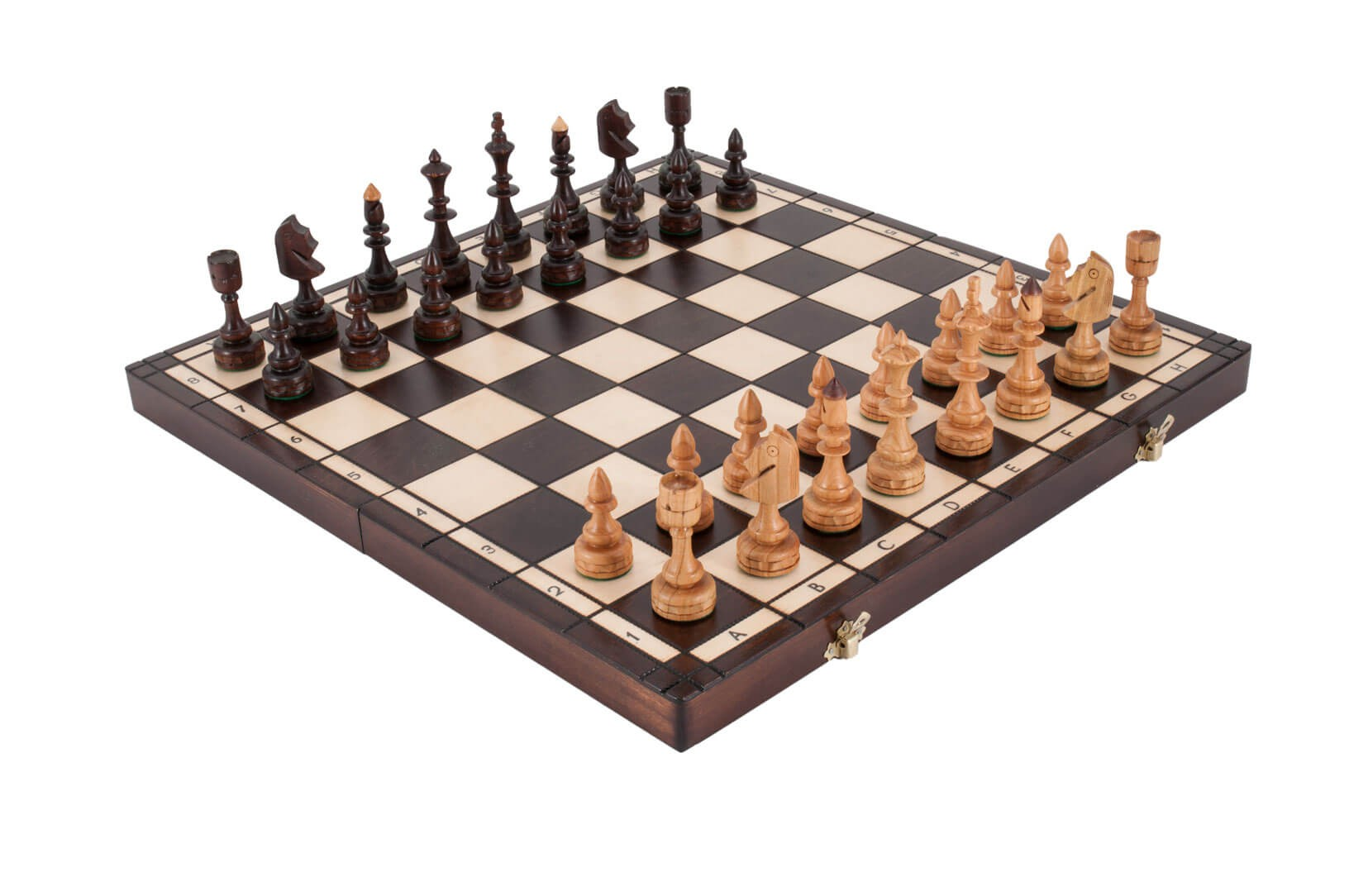 The small indian chess set - The chessmen chess set ...