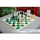 Musketeer Chess Elephant and Hawk Kit (Sharper Kit) Bundled with HOS Luxury Plastic Chess Pieces