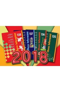 Chess Informant Annual Bundle - 4 Issues - 2015, 2016, 2017 and 2018 Available!