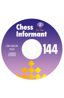 Chess Informant - Issue 144 on CD