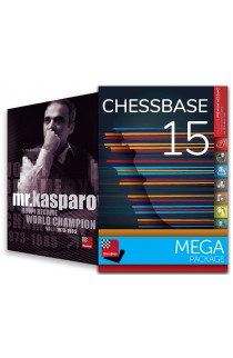 CHESSBASE 15 - MEGA Edition & Mr. Kasparov: How I Became World Champion Bundle