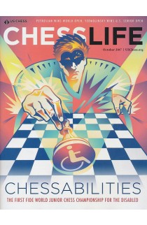 CLEARANCE - Chess Life Magazine - October 2017 Issue