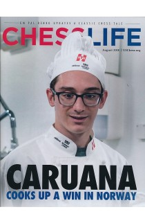 CLEARANCE - Chess Life Magazine - August 2018 Issue