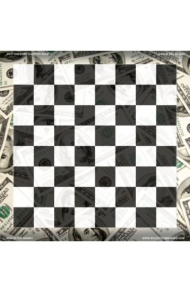 In the Money - Full Color Vinyl Chess Board