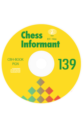 Chess Informant  - ISSUE 139 on CD