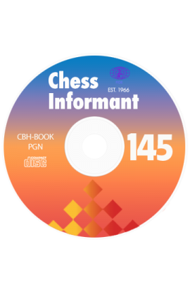 Chess Informant - Issue 145 on CD