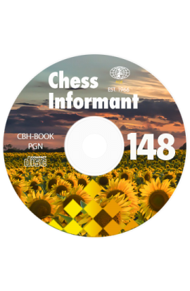 Chess Informant - Issue 148 on CD