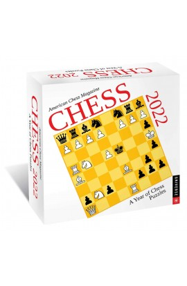 Chess 2022 Day-to-Day Calendar - A Year of Chess Puzzles