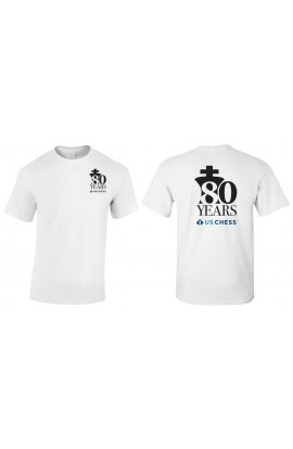 80th Anniversary US Chess Federation T-Shirt