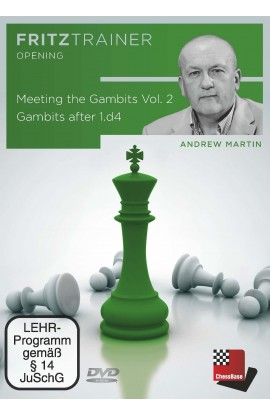 Meeting the Gambits - Gambits after 1.d4 - VOL. 2 - Andrew Martin