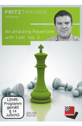 An Attacking Repertoire with 1.d4 - Nicholas Pert - Volume 3