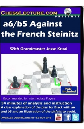 a6 b5 Against the French Steinitz. Front