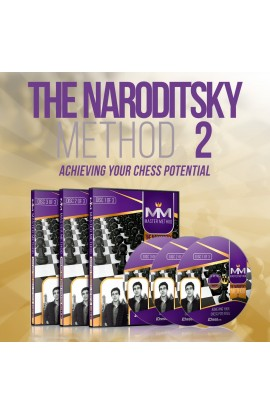 E-DVD - MASTER METHOD - The Naroditsky Method 2 - GM Daniel Naroditsky - Over 15 hours of Content!