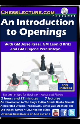 An Introduction to Openings - Chess Lecture - Volume 158