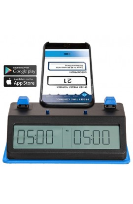 Tap N Set Digital Chess Clock - Available in Push Button or Touch Sensor