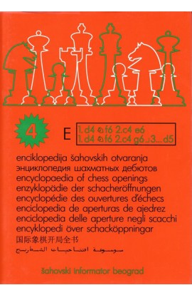 Encyclopedia of Chess Openings - BOOK E