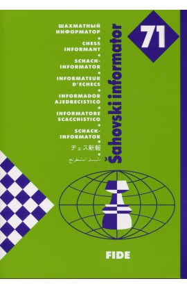 CLEARANCE - Chess Informant - ISSUE 71