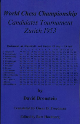 World Chess Championship Candidates Tournament Zurich 1953