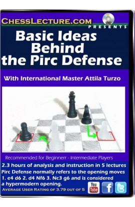 Basic Ideas Behind the Pirc Defense - Chess Lecture - Volume 97
