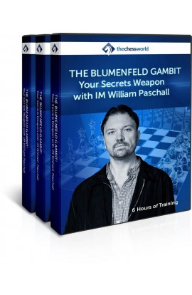 E-DVD The Blumenfeld Gambit with IM William Paschall
