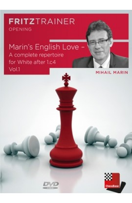 Marin's English Love - A Complete Repertoire for White After 1. c4 - Vol.1 - Mihail Marin