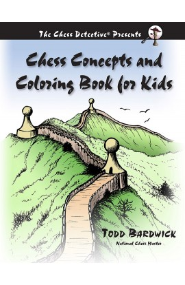 PRE-ORDER - Chess Concepts and Coloring Book for Kids