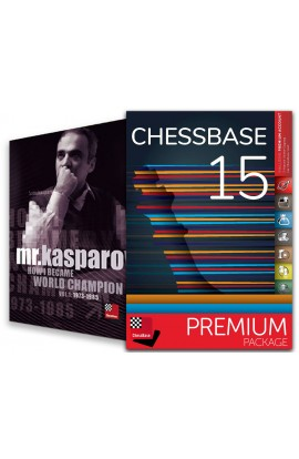 CHESSBASE 15 - PREMIUM Edition & Mr. Kasparov: How I Became World Champion Bundle