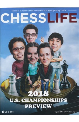 CLEARANCE - Chess Life Magazine - April 2018 Issue