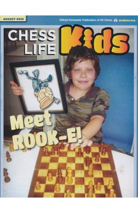 CLEARANCE - Chess Life For Kids Magazine - August 2016 Issue