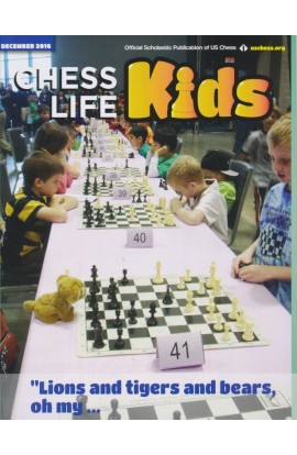 CLEARANCE - Chess Life For Kids Magazine - December 2016 Issue