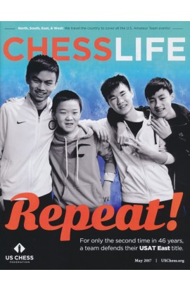 CLEARANCE - Chess Life Magazine - May 2017 Issue