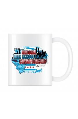 2019 USCF High School Chess Championship Commemorative Coffee Cup