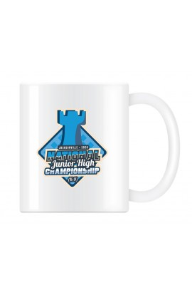 2020 National Junior High Chess Championship Commemorative Coffee Cup