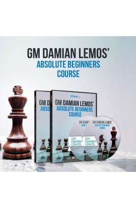 E-DVD - GM Damian Lemos' Absolute Beginners Course - Over 6 Hours of Content!
