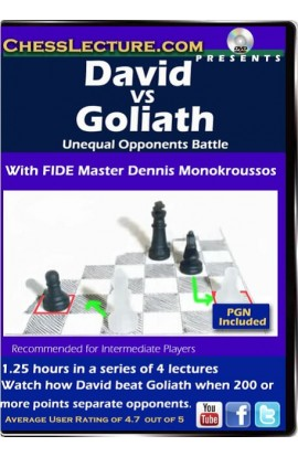 David VS Goliath: Unequal Opponents Battle - Chess Lecture - Volume 119