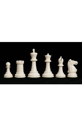 """The Marshall Series Plastic Chess Pieces - 3.75"""" King"""