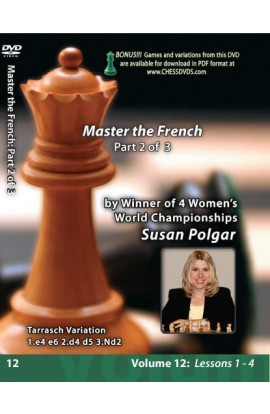 E-DVD WINNING CHESS THE EASY WAY - VOLUME 12 - Mastering The French - PART 2