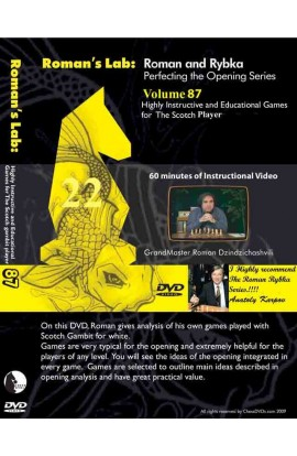 E-DVD ROMAN'S LAB - VOLUME 87 - Highly Instructive and Educational Games for the Scotch Player