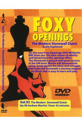 E-DVD FOXY OPENINGS - VOLUME 93 - The Modern Stonewall Dutch