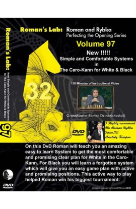 E-DVD ROMAN'S LAB - VOLUME 97 - virtual and Comfortable Systems in the Caro-Kann for White and Black