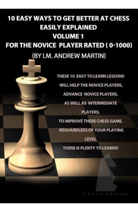 E-DVD FOXY OPENINGS - VOLUME 114 - 10 Easy Ways to Get Better at Chess - Novice