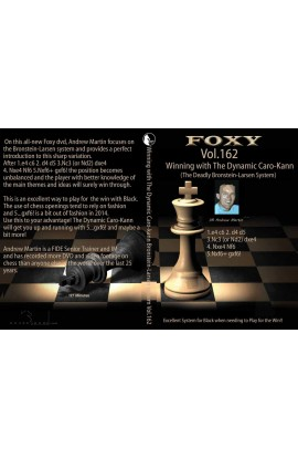 E-DVD FOXY OPENINGS - Volume 162 - Winning with the Dynamic Caro-Kann