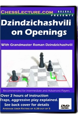 Dzindzichashvilli on Openings front