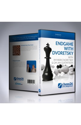 E-DVD Endgames with Dvoretsky – IM Mark Dvoretsky and GM Jan Gustafsson