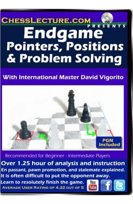 Endgame Pointers, Positions and Problem Solving - Chess Lecture - Volume 117