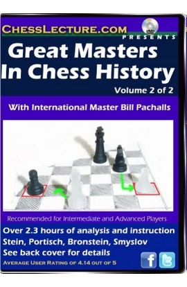 Great Masters in Chess History V1 front