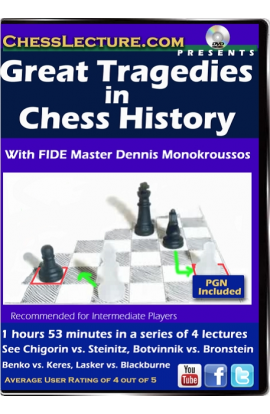 Great Tragedies in Chess History Front