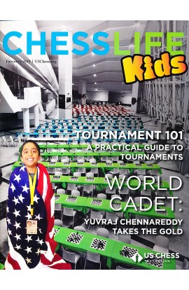 CLEARANCE - Chess Life For Kids Magazine - February 2019 Issue