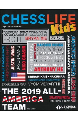 CLEARANCE - Chess Life For Kids Magazine - April 2019 Issue